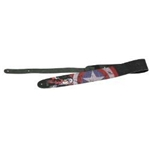 Captain America Leather Guitar Strap