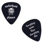 Motörhead Plektrum Black