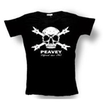 Peavey Skull & Cross Bones T-shirts
