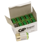 GP Batteri Super 1604A-5S1 / 6LF22 / 9V Bulk