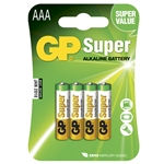 GP Batteri Super 24AE-2U4 / LR03 / AAA 4-pack