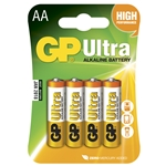 GP Batteri Ultra 24AUE-2U4/ LR03 / AA 4-pack