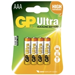 GP Batteri Ultra 24AUE-2U4/ LR03 / AAA 4-pack