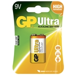 GP Batteri Ultra 1604AU-5U1 / 6LF22 / 9V blister 1-pack